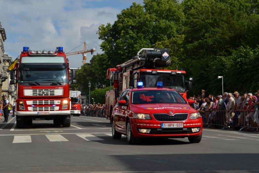 Véhicule de commandement de la zone de secours Luxembourg