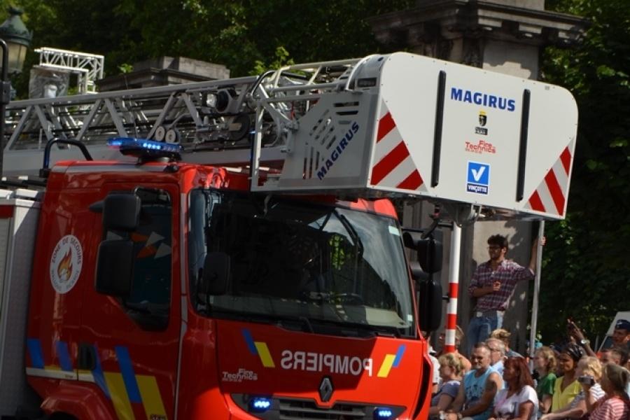 Auto-échelle Zone de secours Wallonie Picarde