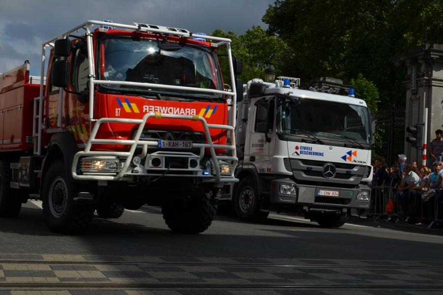 Fahrzeug zur Waldbrandbekämpfung der Hilfeleistungszone Rand