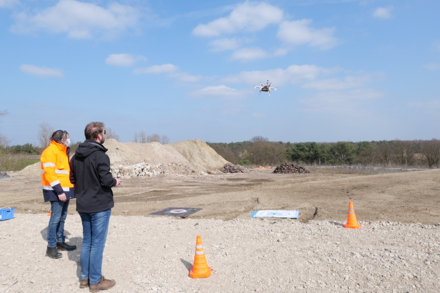 Drone vlucht © Geert Biermans