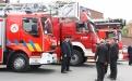 Passage en revue des troupes - Zone de secours Wallonie Picarde (Photo : Dirk Ja