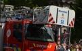 Drehleiterfahrzeug der Hilfeleistungszone Wallonie Picarde