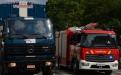 Schlauchcontainer des Zivilschutzes und multifunktionales Löschfahrzeug der Feue
