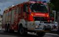 Schienen-Straßen-Fahrzeug der Feuerwehr Brüssel