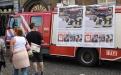 Feuerwehr Brüssel wirbt jugendliche Feuerwehrleute an